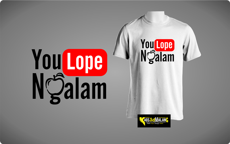 Kaos Malang You Love Ngalam